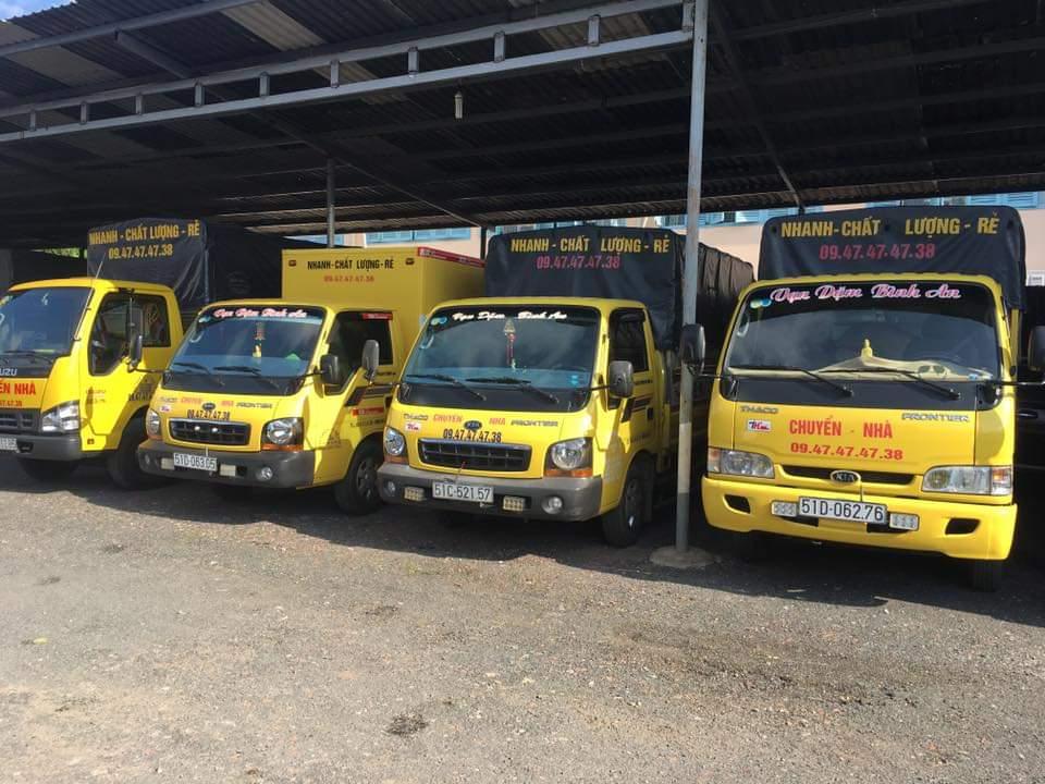 Dịch vụ Cho Thuê Xe tải Chở Hàng Tp.HCM