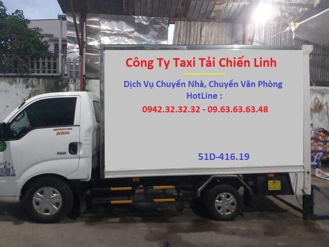 Cho Thuê Xe Tải vận chuyển hàng TpHCM