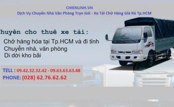 Dịch vụ vận chuyển trọ TpHCM giá rẻ