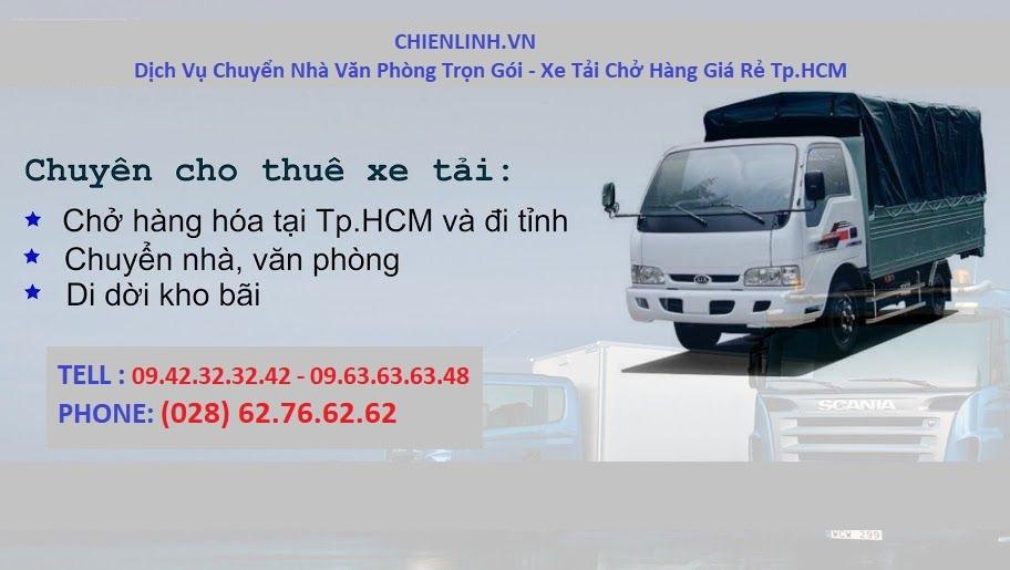 dịch vụ chuyển nhà Trọn Gói Tại Quận 7 của taxi tải Chiến Linh