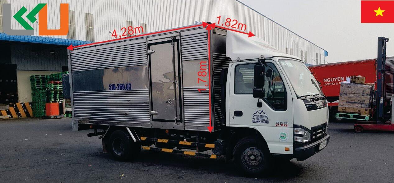 cho thuê xe tải chuyển nhà huyện hóc môn giá rẻ