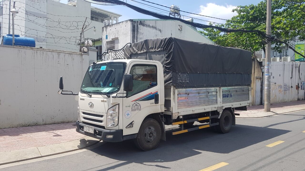 xe taxi tải chuyển nhà quận 8
