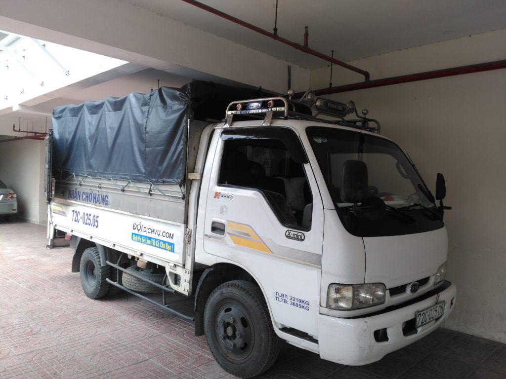 cho thuê xe tải Chuyển Nhà Quận Tân phú