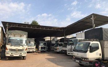 Đội Xe tải chuyển nhà huyện Hóc Môn
