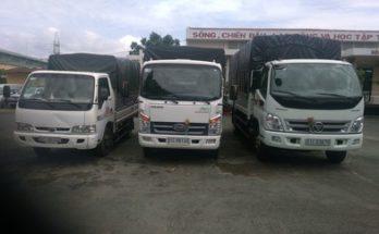 Cho thuê Xe tải chở hàng quận3