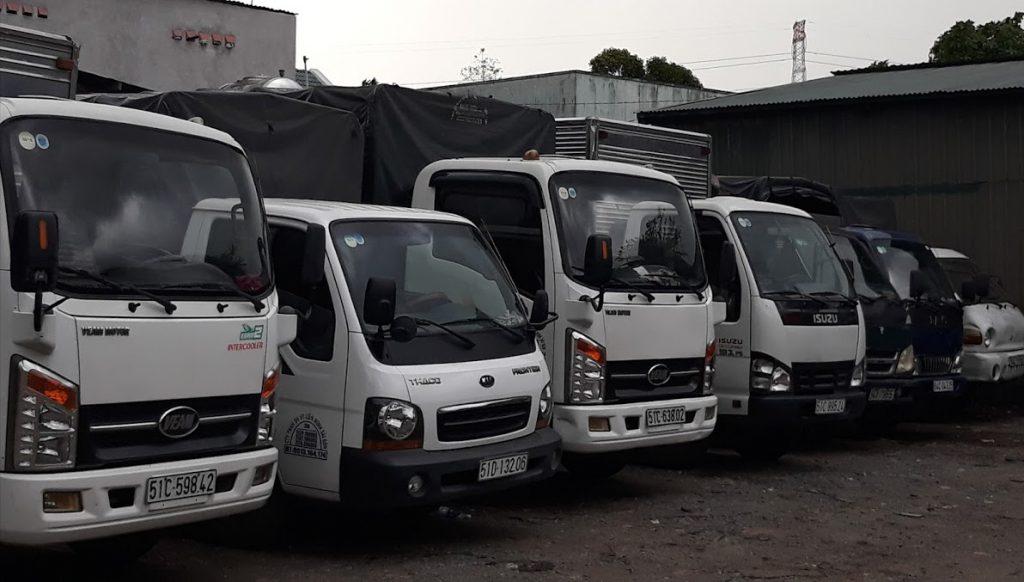 taxi tải chở hàng quận 7