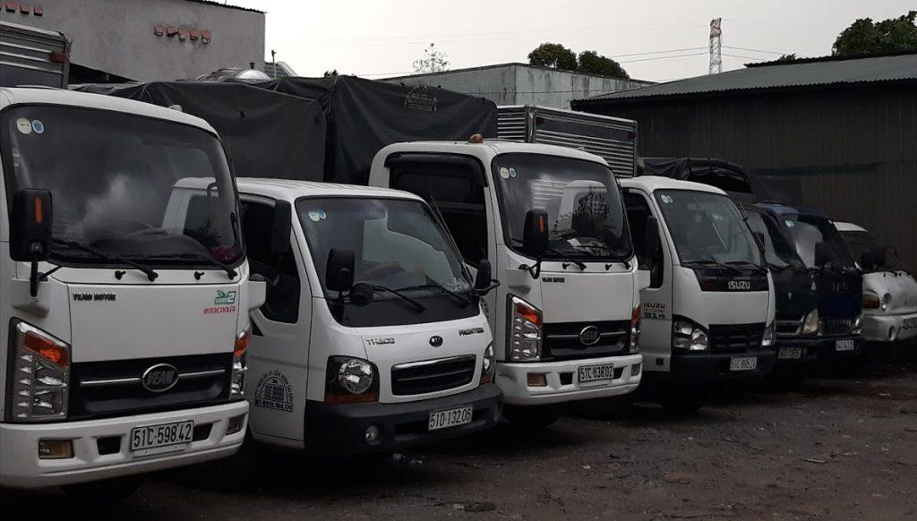 taxi tải quận 5