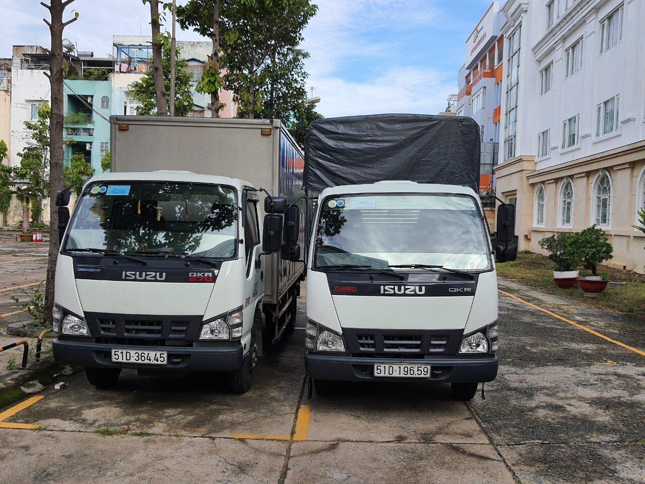 Xe tải vận chuyển loại 2 tấn