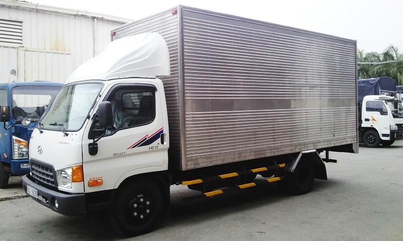 Xe tải vận chuyển loại 2.5 tấn