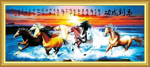 ý nghĩa tranh con ngựa
