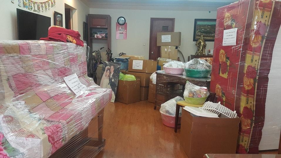 chuyển nhà trọn gói tại tỉnh Bình Dương