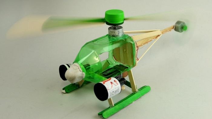 Cách làm máy bay bằng vỏ chai nhựa