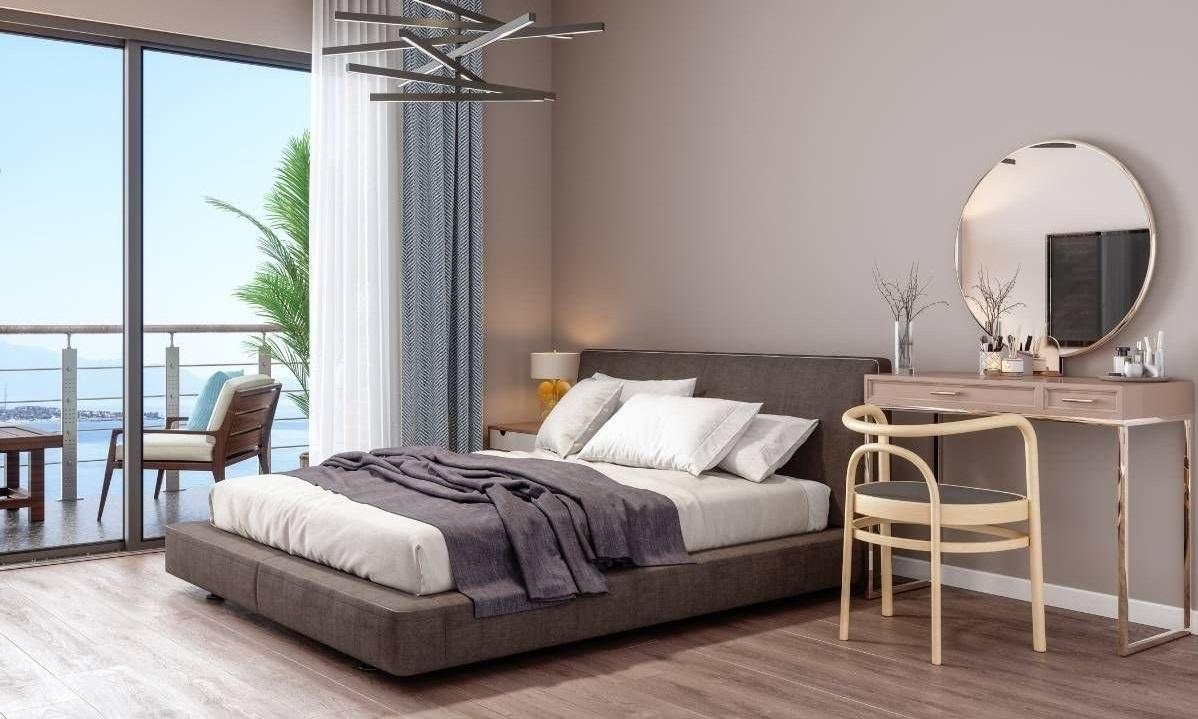 7 nguyên tắc kê giường ngủ tránh gương