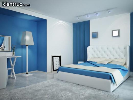 Phong thủy giường ngủ theo màu cho người mệnh Thủy