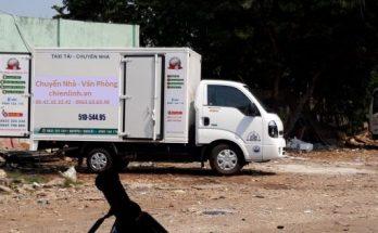 xe tải chở đồ chuyển nhà phòng trọ Tphcm