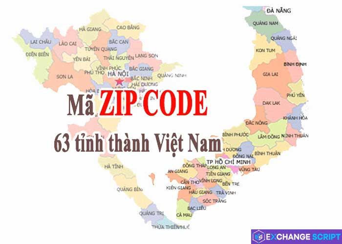 Mã Zip Code